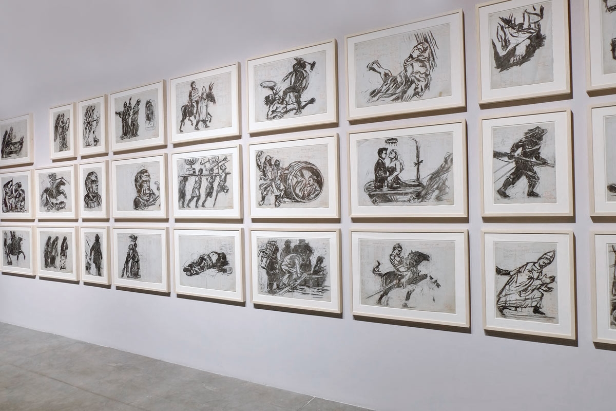 © William Kentridge, 'Triumphs & Laments', 2014-2015, (installation view). All images courtesy of Another Africa / Clelia Coussonnet.