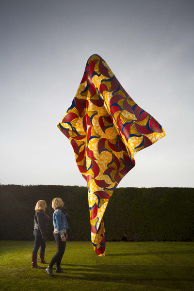 Yinka Shonibare MBE, Wind Sculpture, 2013. Courtesy the artist and Stephen Friedman Gallery, London and James Cohan Gallery, New York. Photo Jonty Wilde.
