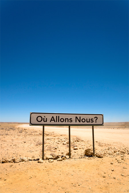 © Owanto. Où Allons-Nous? (Where are we going?, 2009 (2013 exhibition print). Collection of the artist. Courtesy of the Fowler Museum.
