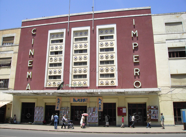 Cinema Impero on Harnet Avenue