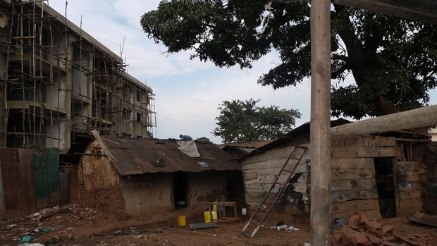 Expropriated land, Katanga, Kampala, by Canon Rumanzi