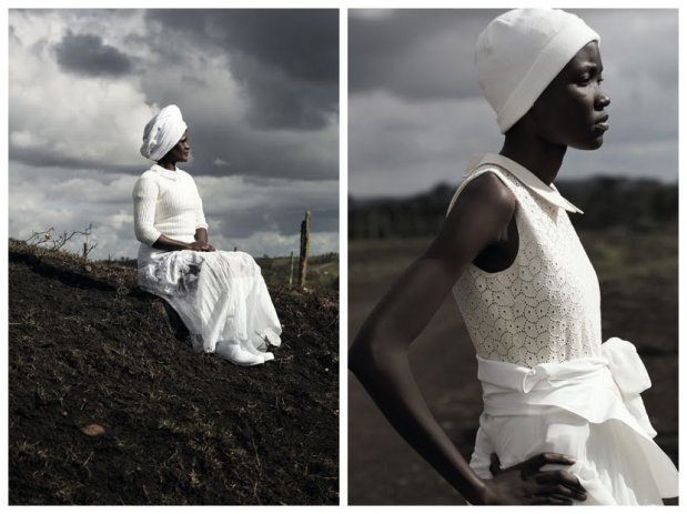 Nairobi editorial for LOVE Magazine. L | Florence R | Gift. Photo by Alice Hawkins.