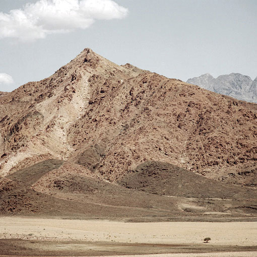 A typical Richtersveld landscape.