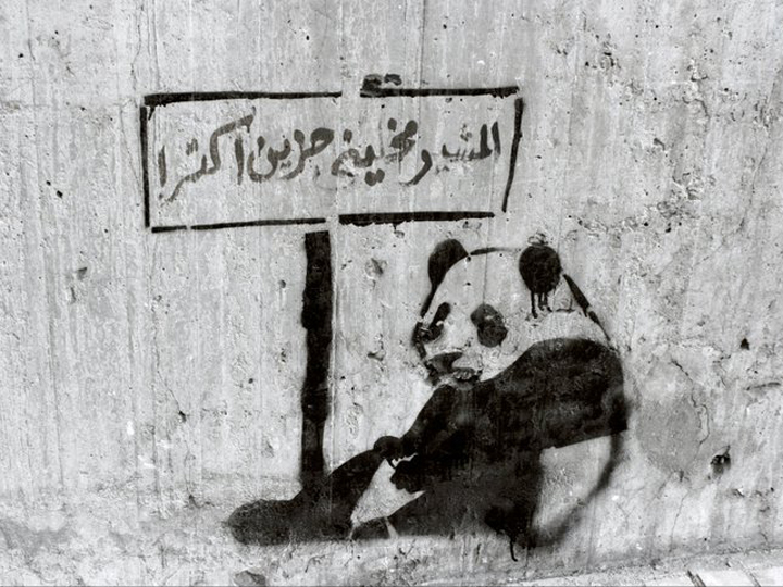 Cairo, Egypt. Tagged by Sad Panda.