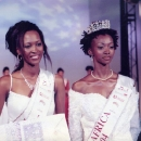 Georgie Badiel, the crowned Miss Africa 2004, Tunisia.