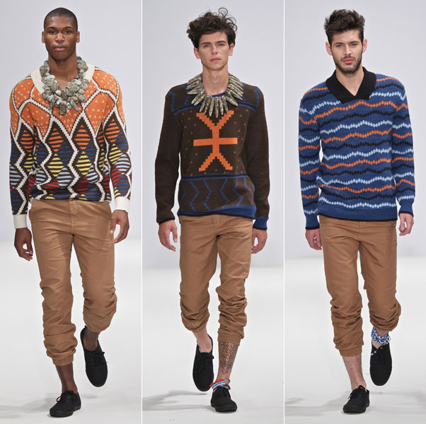 MaXhosa by Laduma  A | W 2012 Collection