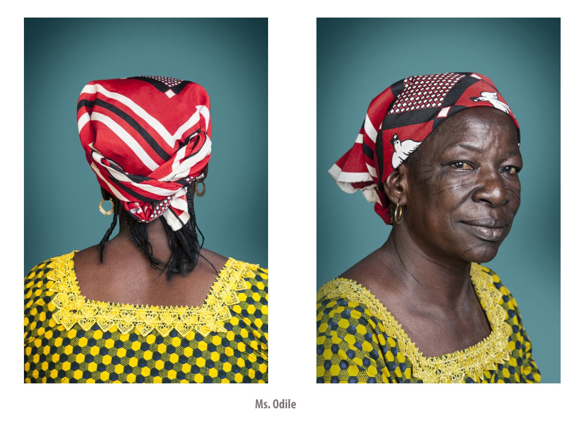 © Joana Choumali.   Hââbré, The Last Generation, Ms. Odile,  2013 ~ 2014. Courtesy of the artist.
