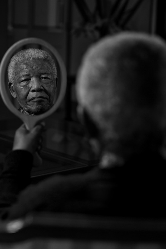 Portrait of Nelson Mandela from 21 Icons. © Adrian Steirn and courtesy 21 Icons | South Africa.