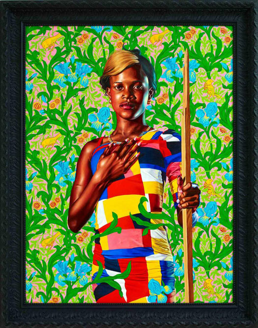 © Kehinde Wiley, 'Saint John the Baptist in the Wilderness', 2013. Courtesy of Stephen Friedman Gallery.