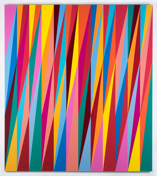 © Odili Donald Odita, Plane Shifter, 2013. Courtesy of the artist and Jack Shainman Gallery.