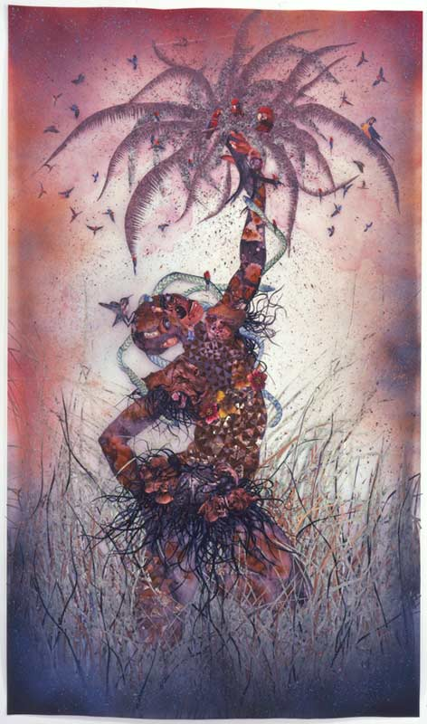 © Wangechi Mutu, Le Noble Savage, 2006. Collection of Martin and Rebecca Eisenberg, Scarsdale, New York. Image courtesy of the artist.