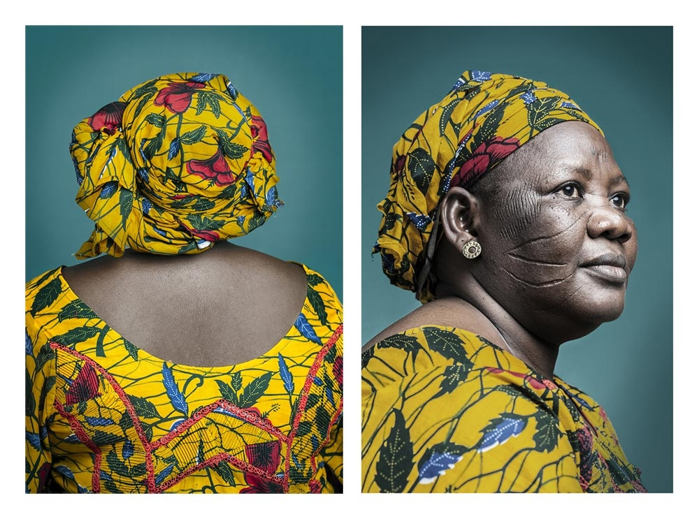POPCAP '14 Winner | © Joana Choumali. Mrs. Djeneba, Abidjan, 2013 ~ 2014. Courtesy of the artist and piclet.org.