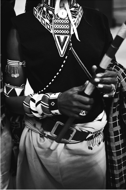 Samburu Warrior in New York