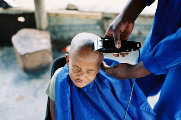 Township Barbershops Signs Of South Africa