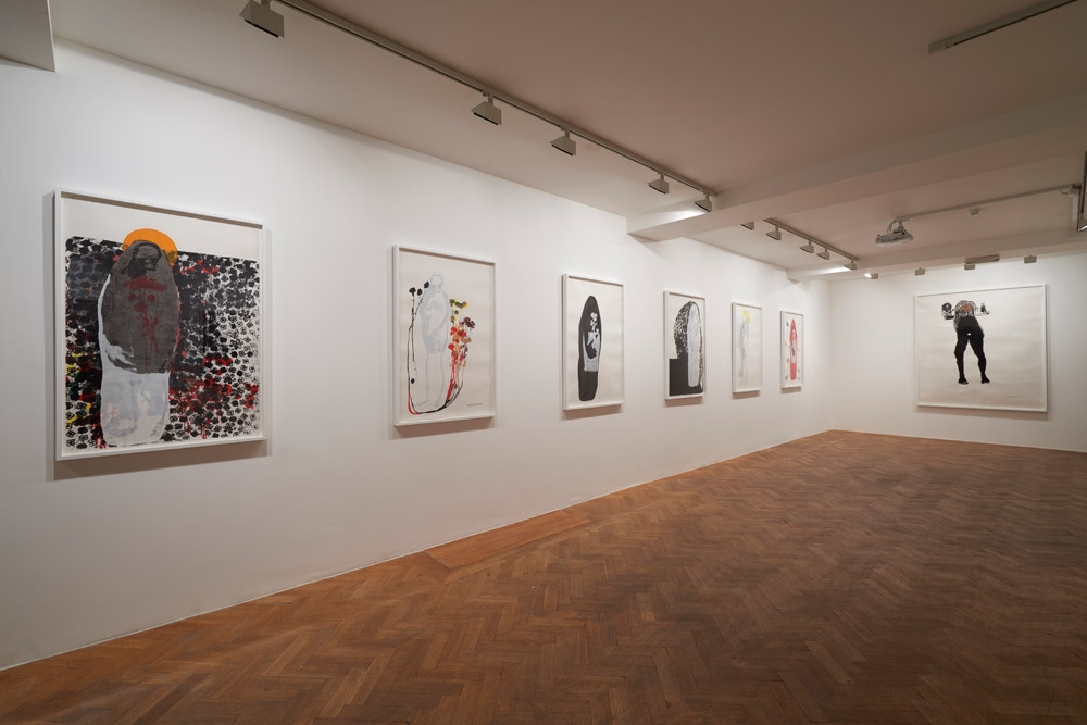 Virginia Chihota   A Thorn in my Flesh (installation view), 2015. Photo © Sylvain Deleu. Courtesy of Tiwani Contemporary, London.