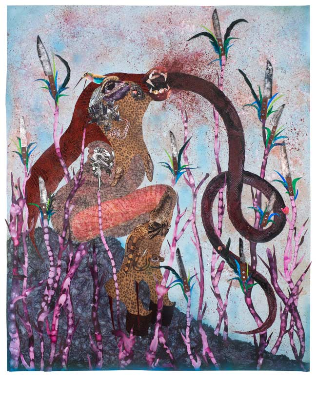 © Wangechi Mutu.  Even, 2014. Courtesy the Artist and Victoria Miro, London.