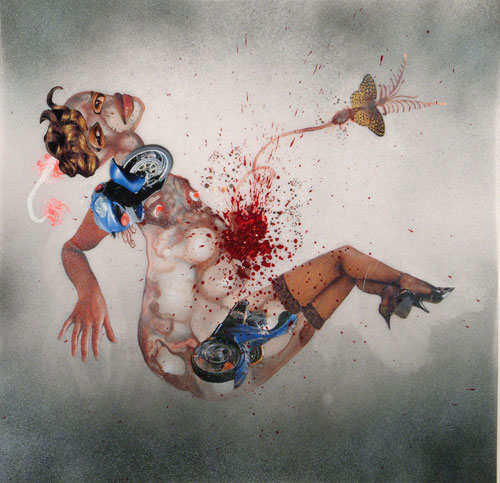 Wangechi Mutu, Untitled, 2004. Courtesy of the artist and The Saatchi Gallery.