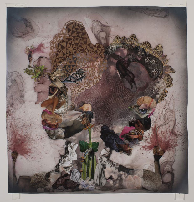 Wangechi Mutu, Before Punk Came Funk, 2010.