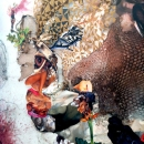 Wangechi Mutu, Before Punk Came Funk, 2010 | Detail image.