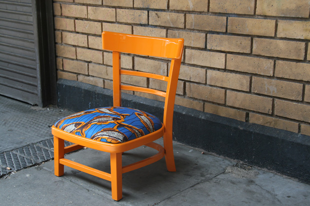 Yinka Ilori Design | Kere Low Chair