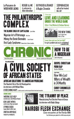 Chronic, a Chimurenga publication