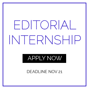 EDITORIAL INTERNSHIP APPLY NOW